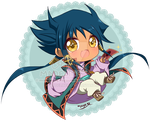 Aigami chibi - Yu-Gi-Oh DSOD by MadelineCG
