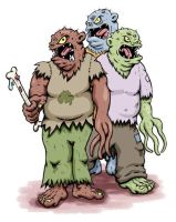 The Blugg Brothers by weakcut