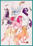 My Little Ponies by Kinky-chichi