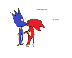 Sonic and knuckles yaoi commison by GalaxyTheHedgehog1