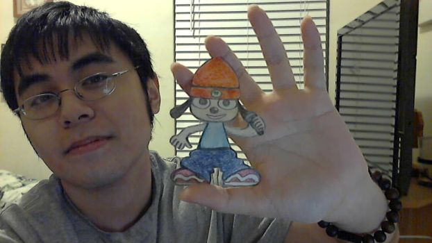Paper Parappa by dokugami