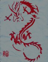 Dragon by Donyle