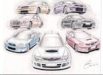 Legacy of Subaru Impreza by KingOfShu
