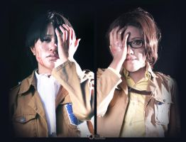 Shingeki No Kyojin - Through our eyes (LeviHan) by yaminogames