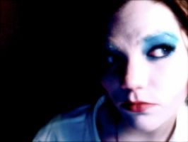 Bowie:Life on Mars Makeup5 by TimeLordmk