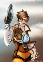 Tracer by lizzybepainting