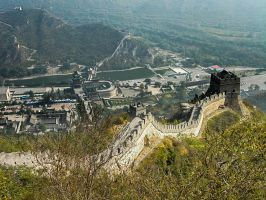 The Great Wall By Espimages by InOnesMindsEye