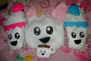 plushie face family by helloashleeeee