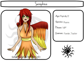 Seraphina's Application by AdenChan