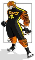 Tygris Fighting attire by ShoNuff44
