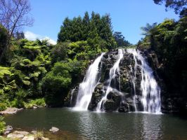 Owharoa Falls Karangahake Gorge New Zealand by es32