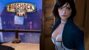 BioShock Infinite with Anna Moleva wallpaper by m4rvellous