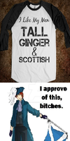 Tall,ginger and scottish by AleItaly1998