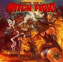 Witch Fight album cover by WacomZombie