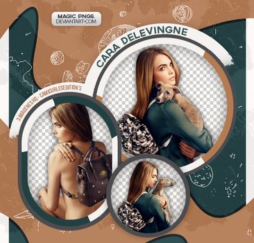 PACK PNG 505  CARA DELEVINGNE by MAGIC-PNGS