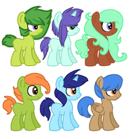 Fillies and colts adoptable auction  -OPEN- by snowgraywhite