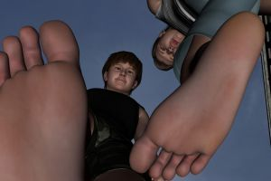 Under their feet by Nemper