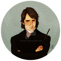 Professor Severus Snape by Natello