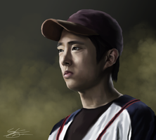 Walking Dead - Glenn by ArchXAngel20