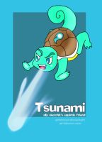Tsunami the Squirtle by airlobster