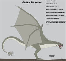 Fantasy Race: Green Dragon by Kurvos