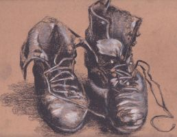 Work boots by JAMiAm100