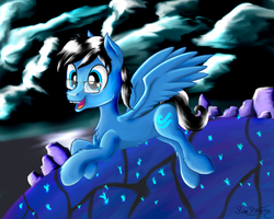 John Egbert Pony in The Land of Wind and Shade by SeaFoamThePony