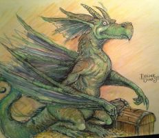 Coveted Dragon by butchRbill