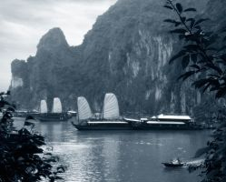 Halong Bay, Vietnam by ToddyGee