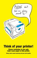 Think of your printer by Klitaka-Sylfaen