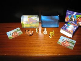 TLK collection: Disney Pocket Box Figures by kary218
