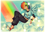 Rainbow Dash by Mizz-chama
