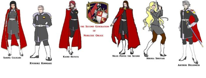 ZAFT OC Team The Noblesse Knights by Mech-Master