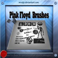Pink Floyd  brushes by M10tje