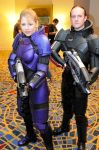 Mass Effect Armor Male and Fem by ParadoxJaneDesigns
