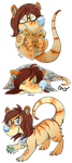Adorable Mew Stickers by Nestly