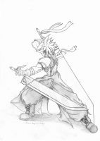 Cloud Strife AC by lucasvfa
