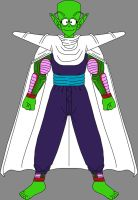 Barefoot Pure-Hearted Piccolo Jr. 8 by DragonBallFan2012