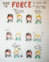 because the force is with him. by DustDealer