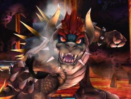 GIGA BOWSER by AdvancedStarFox123