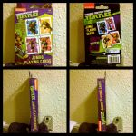 Early B day present TMNT playing cards by NinjaTurtleIggy