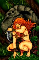 Jungle Girl - Batista by Pauldew