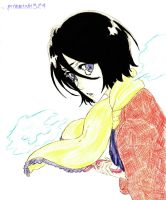 Winter - Rukia by grimmichi324