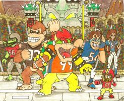 Mushroom Kingdom Football League (Part 3) by Villaman89