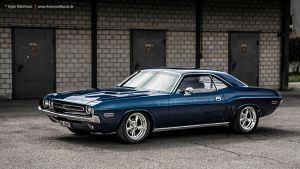 Blue 71 Challenger by AmericanMuscle