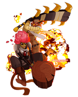 +Cool Gals Don't Look at Explosions+ by lordmegi