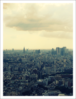 Sunshine 60 View of Tokyo by AzumiChan