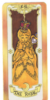 The Royal Clow Card by Libra-the-Hedghog