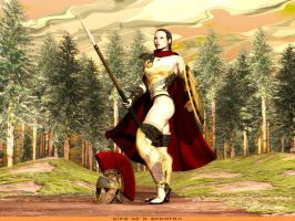 Wife of a Spartan by rlcwallpapers