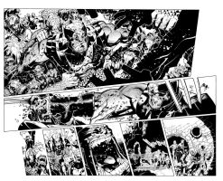 X-Men 9 pgs 2 and 3 by TimTownsend
